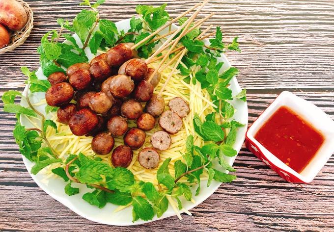 Thịt nướng hồ lô