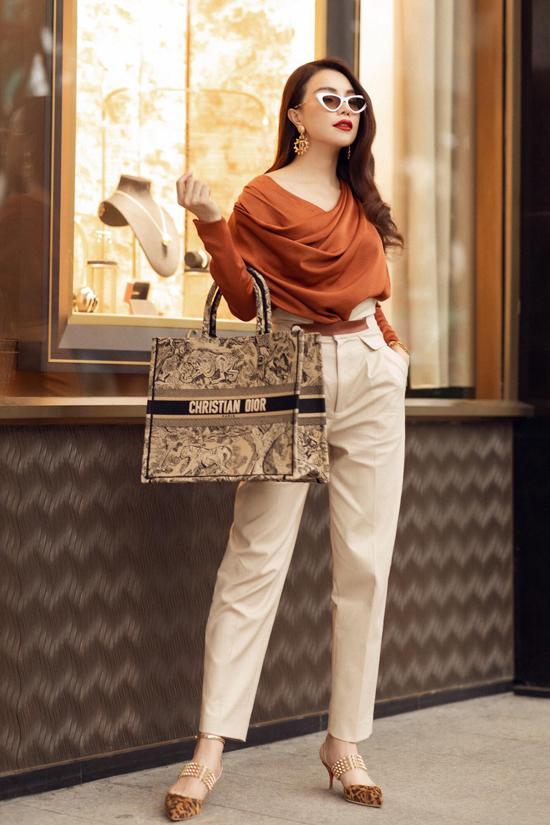 Sao Việt phối đồ với hai mẫu túi hợp trend - 8