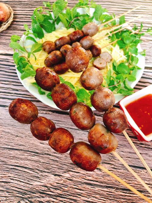 Thịt nướng hồ lô - 1
