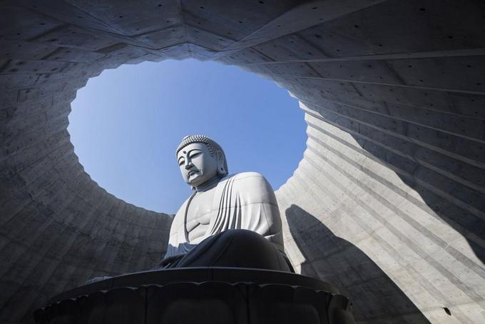 Tượng Phật chìm dưới đất ở Nhật - 5