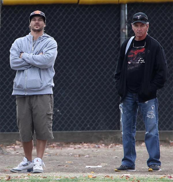 Kevin Federline (bên trái) và ông Jamie Spears (bên phải) vốn có quan hệ không mấy tốt đẹp từ nhiều năm nay.