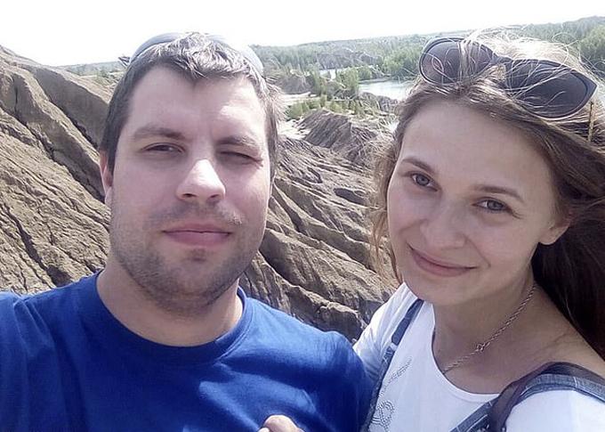 Yulia Gorina (24 tuổi) và bạn trai