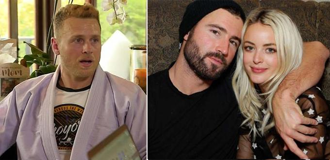Spencer Pratt (trái) tin rằng Kaitlynn đã giấu giếm mối quan hệ với Miley Cyrus trong khi vẫn đang chung sống với Brody Jenner.