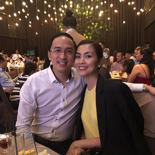 Vợ chồng Tăng Thanh Hà.
