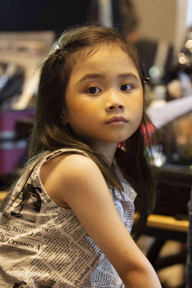 Gần mộtnăm chạm ngõ thời trang, Quỳnh Anh là một trong những phát hiện nổi bật của siêu mẫu Xuân Lan.