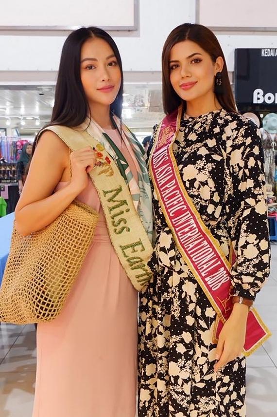 Cô hội ngộ Hoa hậu Châu Á Thái Bình Dương 2018 - Sharifa Areef (người Philippines).