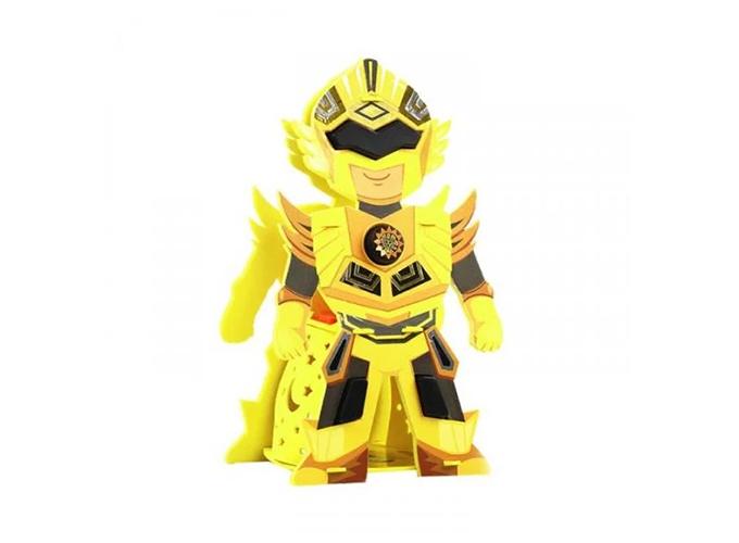 Lồng đèn ước mơ Kibu hình siêu nhân mặt trời màu vàng bắt mắt, giá 150.000 đồng.