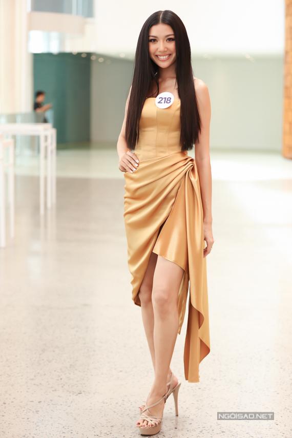Á hậu Quốc tế 2015 Thúy Vân nhận được nhiều sự ủng hộ khi dự thi Hoa hậu Hoàn vũ Việt Nam 2019.