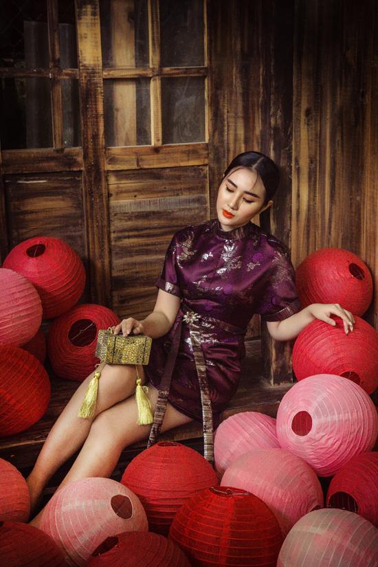 Các kiểu đầm mang hơi thở của vẻ đẹp phương Đông những vẫn có tính ứng dụng cao.