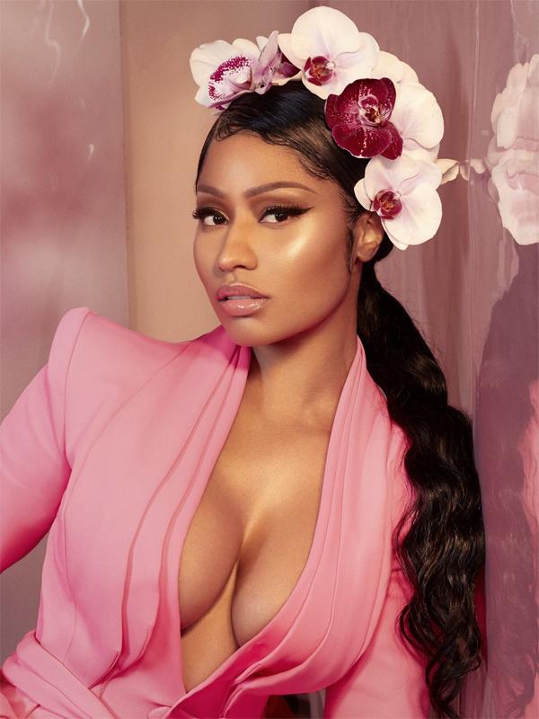 Ngôi sao nhạc rap Nicki Minaj.