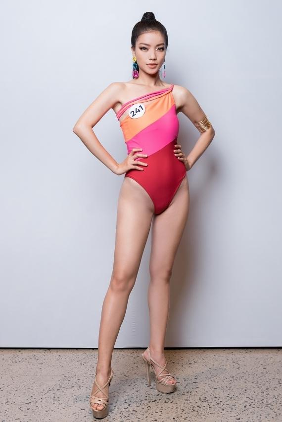 Lâm Thị Bích Tuyền quyết định thivào phút chót. Trước đó, cô vừa lọt vào top 15 Hoa hậu Thế giới Việt Nam 2019.