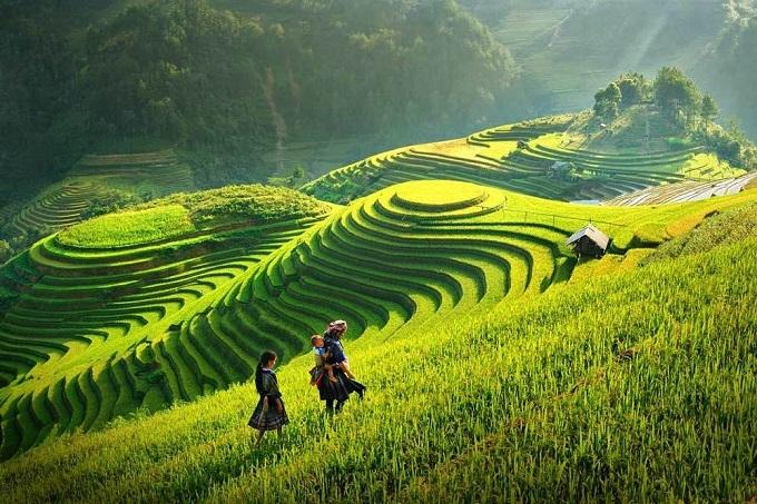 CNN giới thiệu Sa Pa là một thị trấn hiền hòa, mơ màng, cách Hà Nội 5 giờ lái xe, nổi tiếng với ruộng bậc thang và văn hóa bản địa đặc sắc. Những năm gần đây, Sa Pa phát triển vượt bậc, trở thành một trong những điểm du lịch nổi tiếng nhất ở Việt Nam với nhiều khách sạn mới.