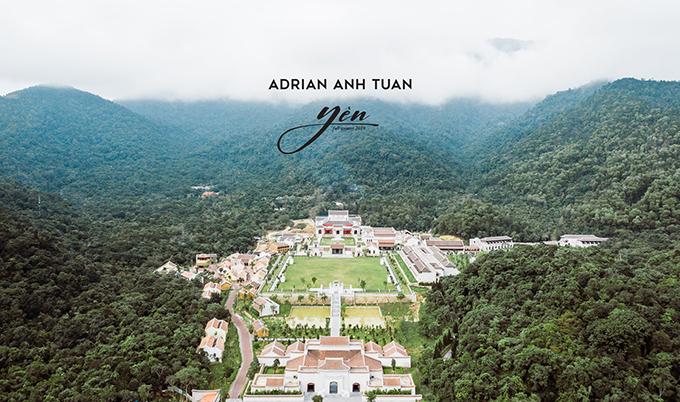 Show thời trang thu đông 2019 của Adrian Anh Tuấn sẽ được tổ chức dưới chân núi Yên Tử.