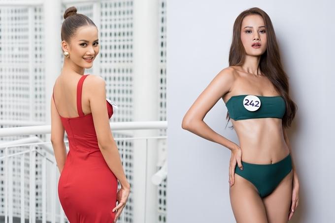 Quán quân Vietnams Next Top Model 2015 Hương Ly cao 1,76 m, nặng 64 kg, số đo 82-60-92. Cô bày tỏ quyết tâm chinh phục vương miện năm nay.