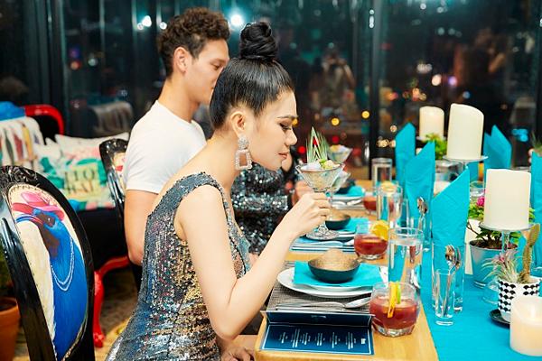 Hoa hậu Thiên Kimlà bà chủ chuỗi hệ thống Jebu Beauty & spa tại TP HCM và Cần Thơ.