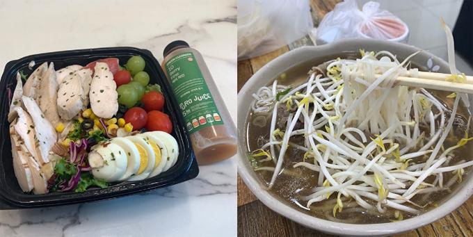 Chế độ ăn của Soo Bin tuân thủ quy tắc hạn chế tinh bột, tăng cường rau xanh, protein để giúp cơ thể đốt mỡ, tăng cơ.