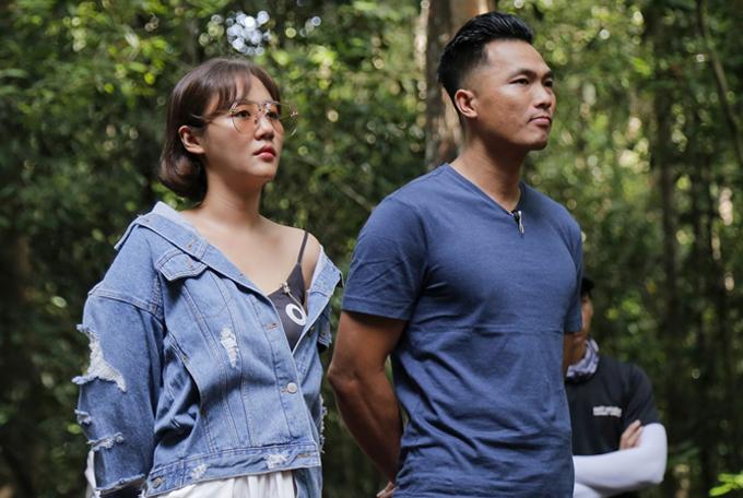 Văn Mai Hương và nhà leo núi Phan Thanh Nhiên làm giám khảo tập 7 Mỹ nhân hành động.