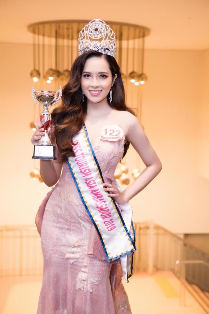 Miss Tourism Asia Ambassador (Hoa hậu Đại sứ du lịch châu Á)là cuộc thi nhan sắc dành cho các cô gái từ 18 đến 28 tuổi, có niềm đam mê xê dịch và mong muốn trở thành đại sứ du lịch. Ban tổ chức cho biết cuộc thi năm nay với chủ đề Du lịch và môi trường, ngoài mục đích tìm ra đại diện sắc đẹp, còn hướng đến mục tiêu liên kết, quảng bá du lịch trên toàn thế giới. Cuộc thi do Tam Diem Production phối hợp cùng Asia Health and Beauty Association, Hội hữu Nghị Việt Nhật Osaka tổ chức.