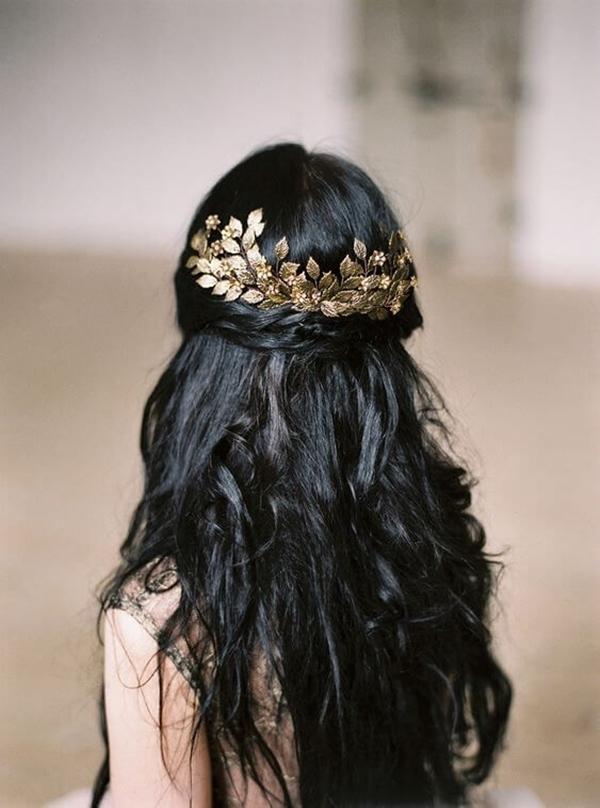 8 mẫu tóc đen dài gây thương nhớ - 6