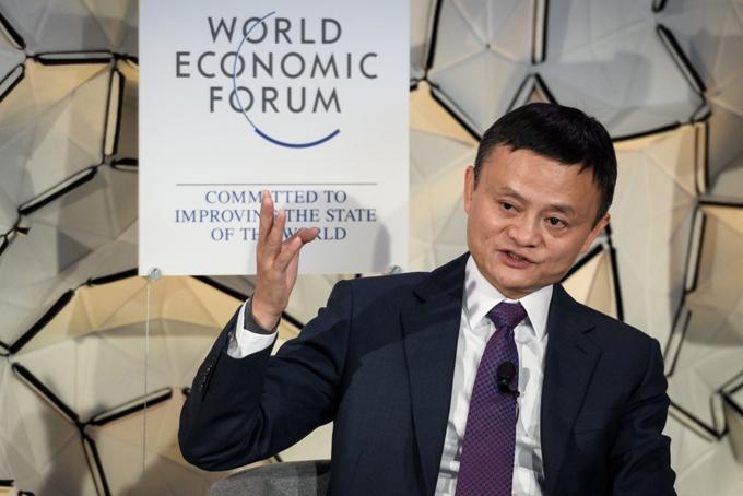 Jack Ma sẽ nghỉ hưu vào sinh nhật lần thứ 55. Ảnh: AFP.