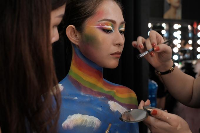 Tính sáng tạo luôn được tôn trọng và đề cao tại Agnes Makeup Academy.