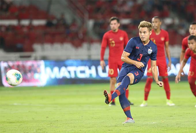 Theerathon nâng tỷ số lên 2-0 cho Thái Lan. Ảnh: Siam Sport.