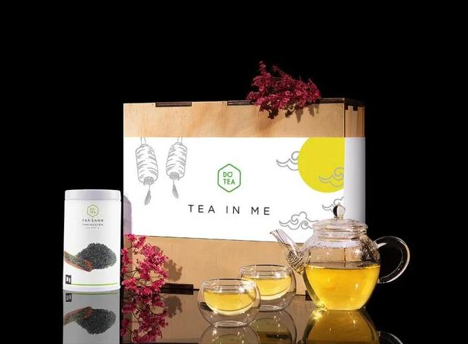 Bộ quà tặng thường xuân mỹ vị trà Dotea