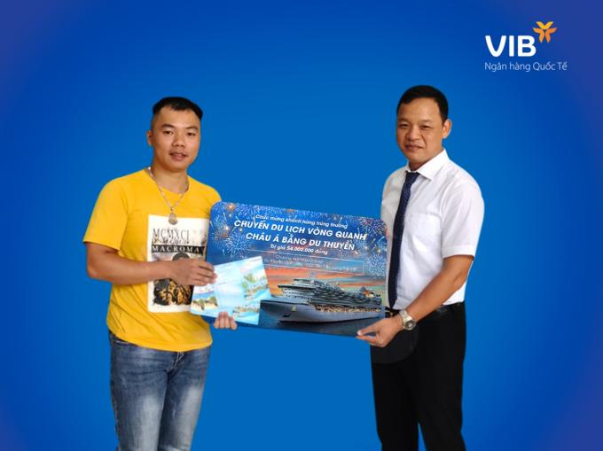 Chủ thẻ tín dụng VIB thứ 3 trúng cặp vé du thuyền châu Á - 1