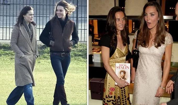 Hai chị em Kate và Pippa thường xuyên đi chơi với nhau năm 2007. Ảnh: UK Press.