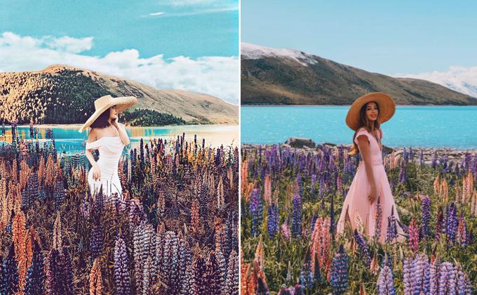Bức ảnh này được Tarachụp tại hồTekapo, New Zealand năm 2018. Nhưng so với những bằng chứng phía trên thì bức ảnh này được Photoshop có tâm hơn với tone màu khác, màu sắc núi non phía sau cũng khác, tuy nhiên ánh sáng lại khá giả khiến nhiều người nghi ngờ đâu cũng là một tác phẩm đạo ảnh.