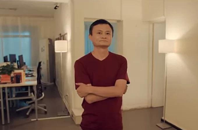 Jack Ma trong căn hộ tại Hàng Châu, nơi khởi nghiệp Alibaba. Ảnh: Alibaba.
