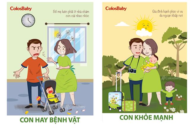 Con khỏe, cha mẹ có thể thường xuyên đưa bé đi du lịch cùng nhau, có những tấm hình sống ảo để đời cho bé nhiều trải nghiệm thú vị trong cuộc sống. Còn những ông bố bà mẹ có con hay bệnh vặt gần như phần lớn thời gian để chăm con, hạn chế nghĩ đến kỳ nghỉ thư giãn cả gia đình.