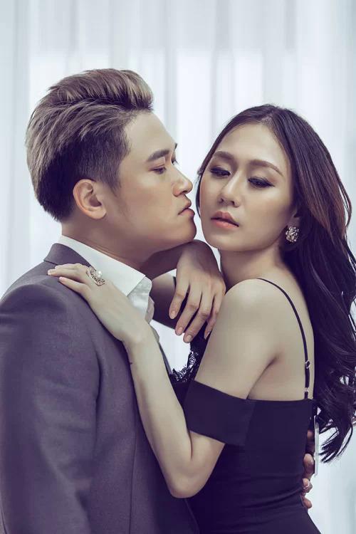 Vũ Duy Khánh và vợ cũ - DJ Tiên Moon khi còn mặn nồng.