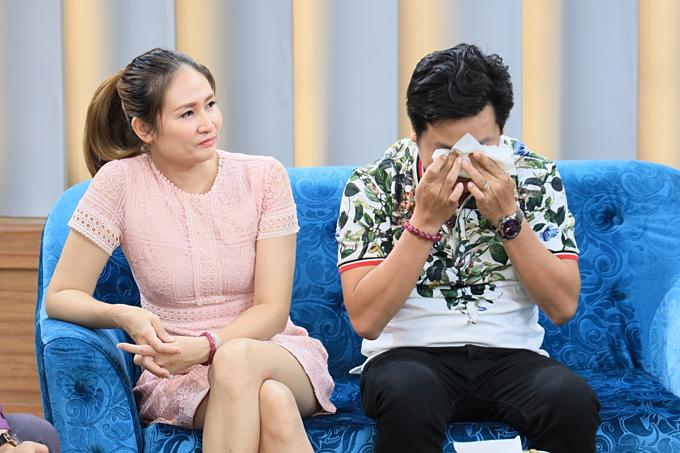 Là cặp đôi thầy - trò và từngbị mọi người phản đối khi đến với nhau, Chánh Trực - Hải Thuận đã trải qua nhiều chuyện xúc động, khiến cả hai không cầm được nước mắt khi nhớ lại.