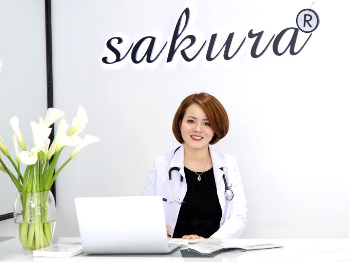 Tiến sĩ, bác sĩ Đào Hoàng Thiên Kim - cố vấn chuyên môn Sakura Beauty Việt Nam.