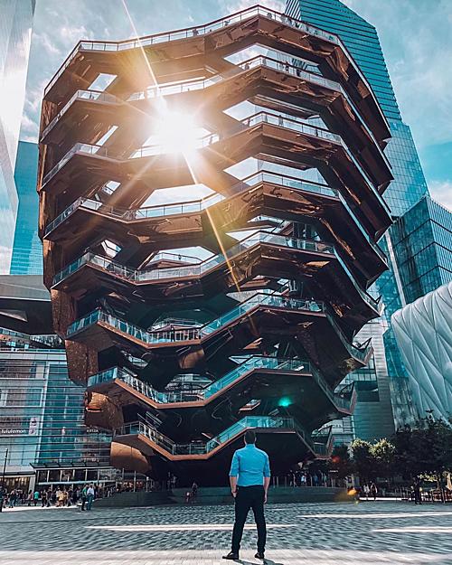 Tòa nhà đèn lồng ở Mỹ