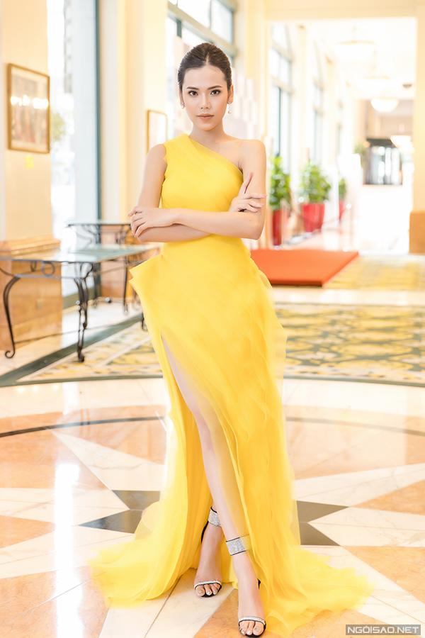 Thí sinh Đỗ Thị Minh Tâm, đến từ Hà Nội, sinh năm 1998. Cô chưa từng tham gia cuộc thi nhan sắc nào nhưng gây chú ý bởi chiều cao 173cm và số đo ba vòng 83-63-90.