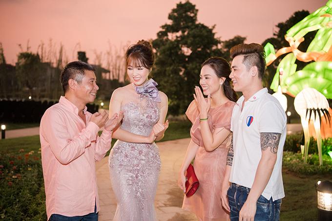 Trước mặt Công Lý, Thuỵ Vân cho biết cô rất quý mến cách ứng xử và trái tim ấm áp của Ngọc Hà.