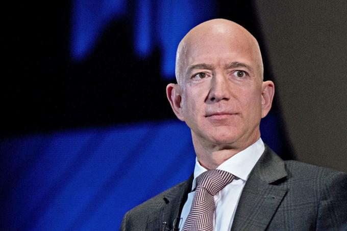 Jeff Bezos, CEO Amazon. Ảnh: Bloomberg.