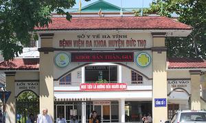 Thai chết lưu ra đời với vết đứt trên cổ ở Hà Tĩnh