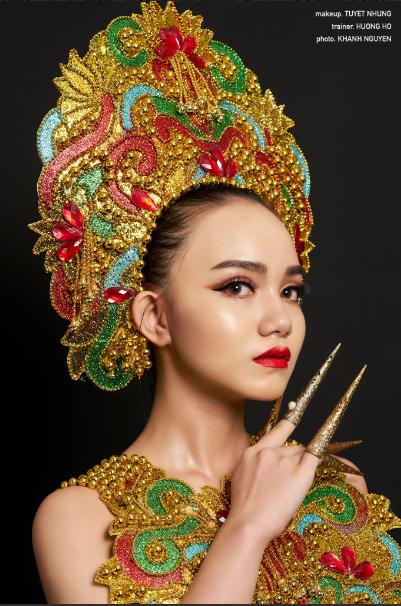 Thí sinh Makeup - Transformation khoe tài năng - 12