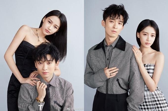 Tôn Di diện đầm cúp ngực khi xuất hiện trên tạp chí cùng chồng - diễn viên Đổng Tử Kiện. Cặp saokết hônnăm 2017, có một con gái.