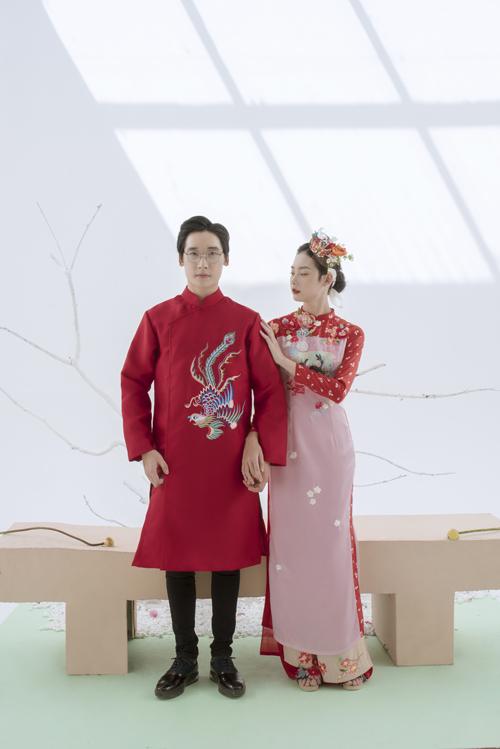 NTK gợi ý cô dâu áo dài cách tân cho ngày đại hỷ.