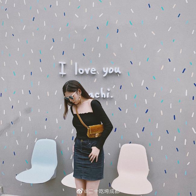 Góc nhỏ được thiết kế theo phong cách dễ thươngvới dòng chữ I love Machi cũng trở thành tọa độ check in nổi tiếng sau khi MV của Châu Kiệt Luân lên sóng.