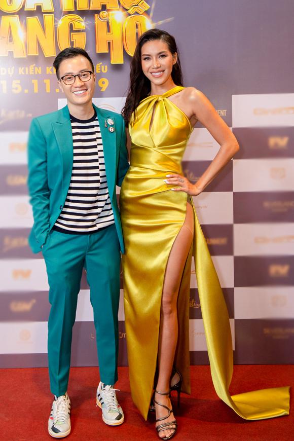 Lương Mạnh Hải và Hoa hậu siêu quốc gia châu Á 2018 Minh Tú.