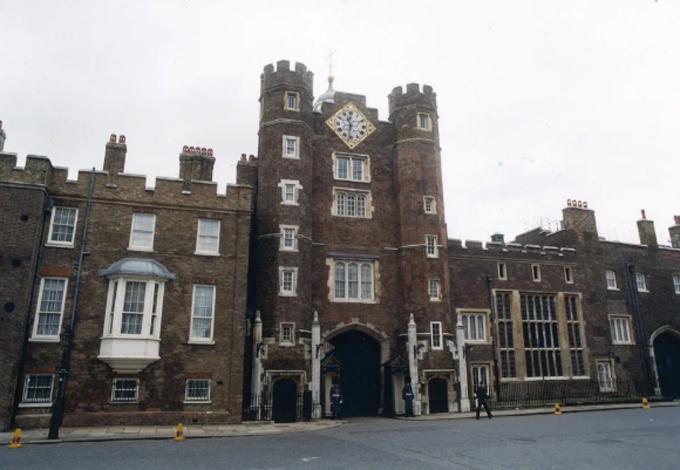 Cung điện St James, London, Vương quốc Anh. Ảnh: UPP.