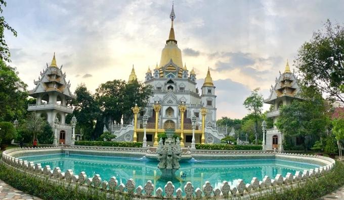 Thiền viện Tổ đình Bửu Long.