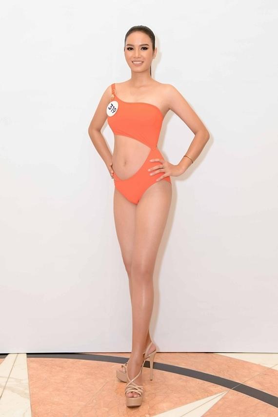 Nhan sắc bản sao Phạm Hương ở Hoa hậu Hoàn vũ VN 2019 - 3