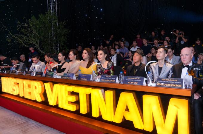 Ban giám khảo chung kết Mister Việt Nam 2019