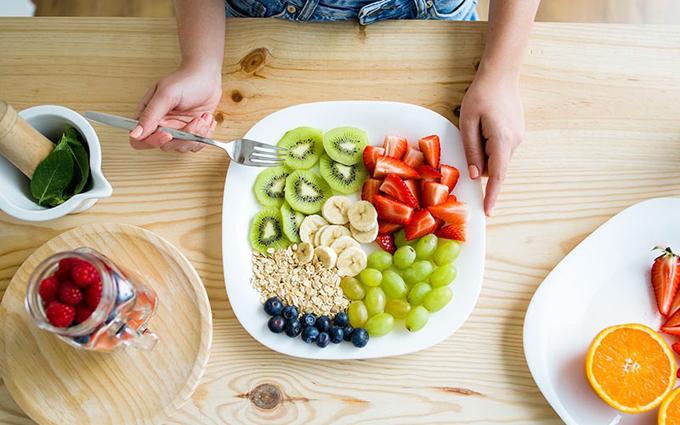 BTV làm đẹp ý thức hơn về việc tiêu thụ trái cây tươi sau 5 ngày áp dụng chế độFruitarian Diet.